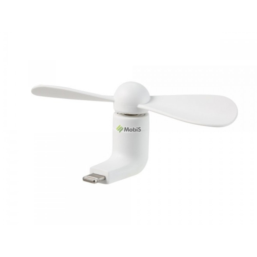Вентилятор REMAX Mini Fan F10 Lightning White (Код: 9002008)