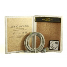 USB Кабель Remax King Data Cable RC-063i Lightning Silver (Код: 9002019)
