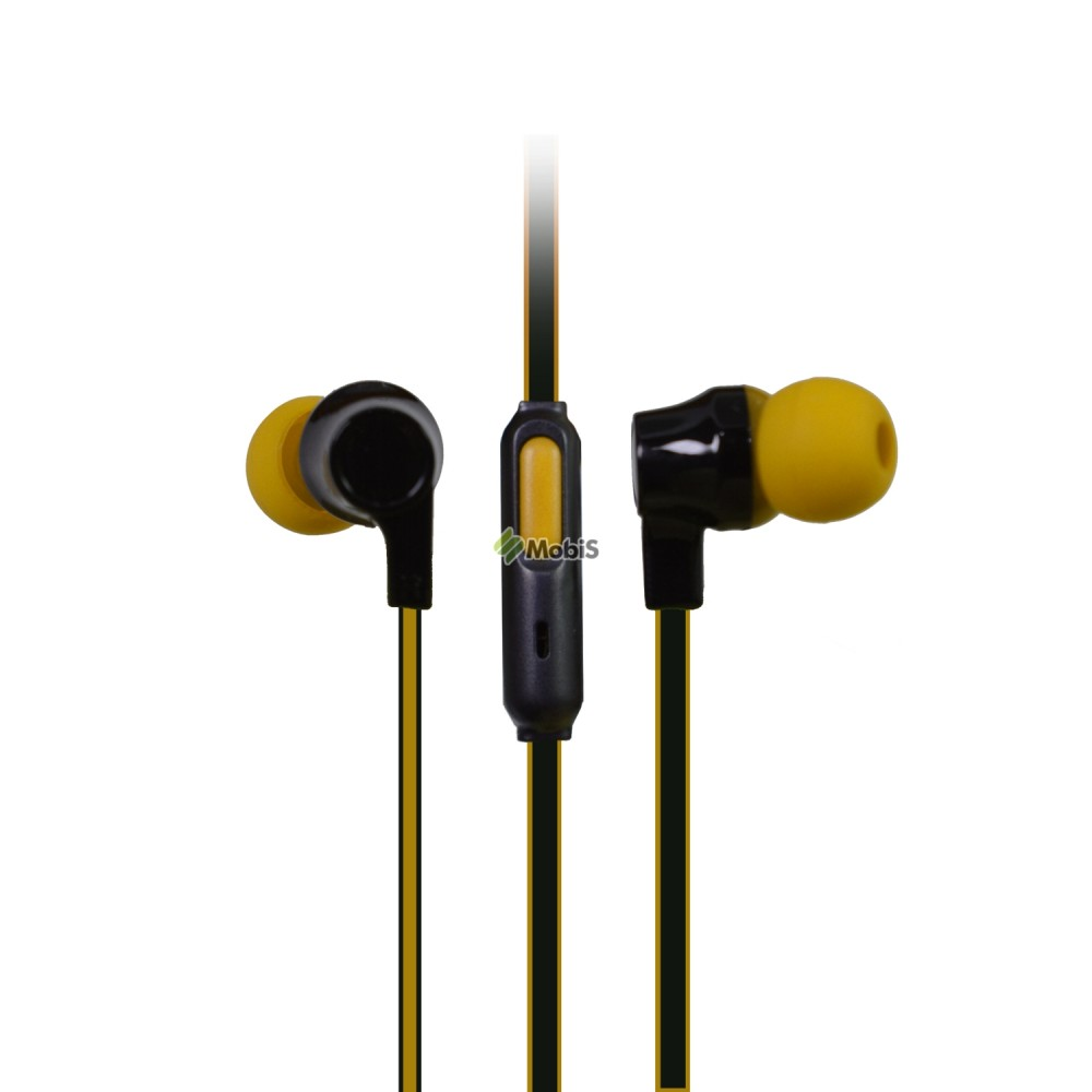 Наушники MP3 NW-349 Black-Yellow (Код: 9002302)