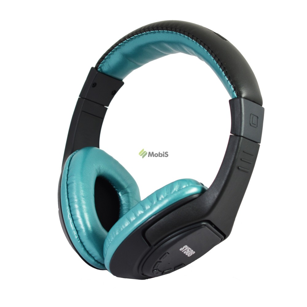 Наушники Senyen SY508 Bluetooth Black-Blue (Код: 9002358)