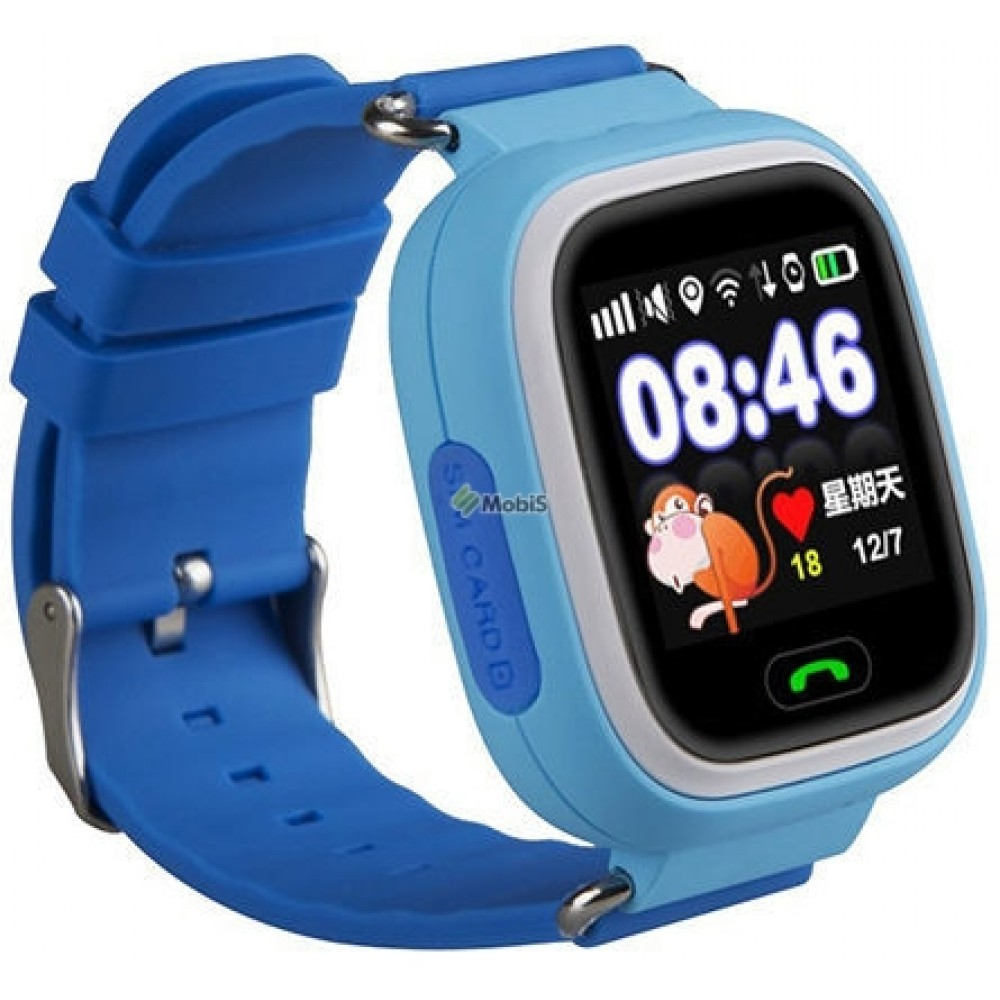 Детские часы SMART BABY WATCH Q90 blue (Код: 9002119)