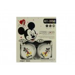 Мультимедийные Наушники Mickey Mouse KT-3156 White