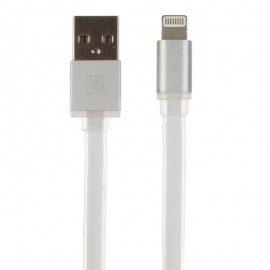 USB кабель Remax (OR) Quick Charge RC-005i iPhone 6 White Metal 1m (Код: 9002615)