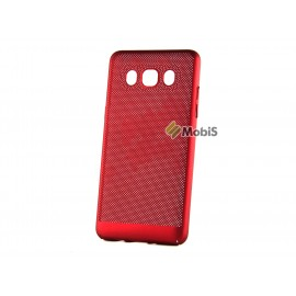 Plastic Perforation чехол Samsung J500 Red (Код: 9001590)