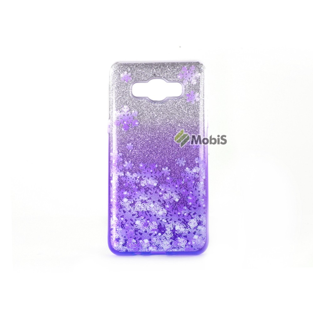 Candy Snowflake 2 in1 Samsung J700 Violet