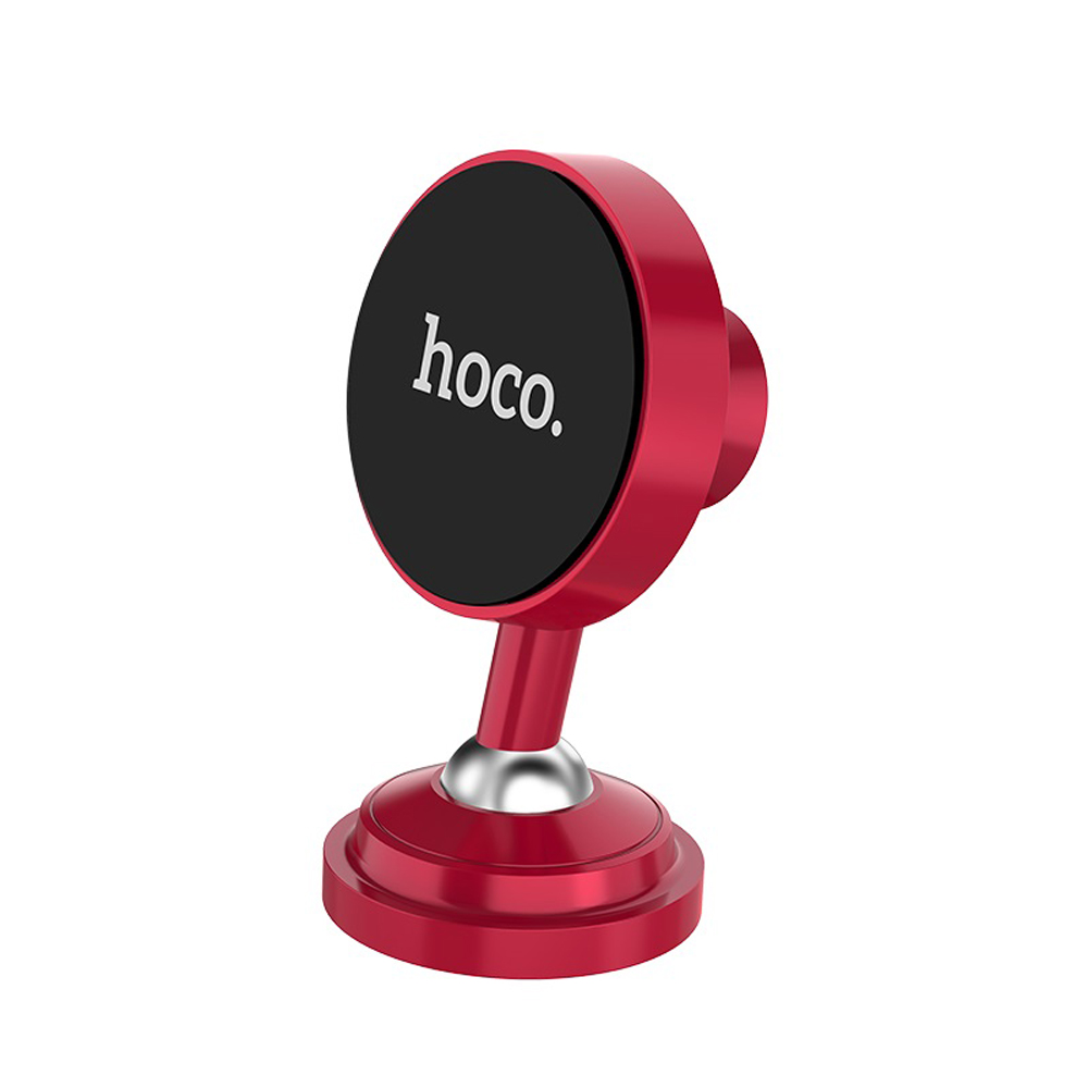 Hoco CA36 Dashboard Metal Magnetic Holder, Red