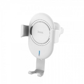 Hoco CW17 Wireless Car Charger, White
