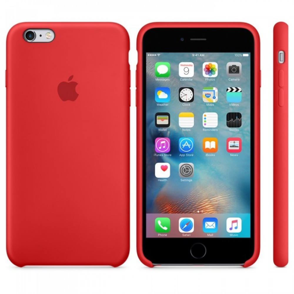 Silicone HC чехол for iPhone 6/6s Plus Red (Код: 9002505)
