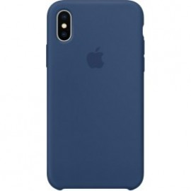 Silicone HC чехол for iPhone X Blue (Код: 9002515)