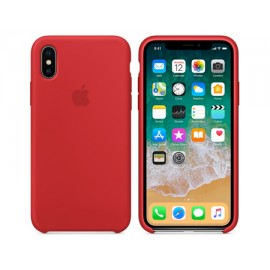 Silicone HC чехол for iPhone X Red (Код: 9002516)