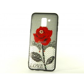 Накладка Roses iPhone 5 Red (Код: 9002439)